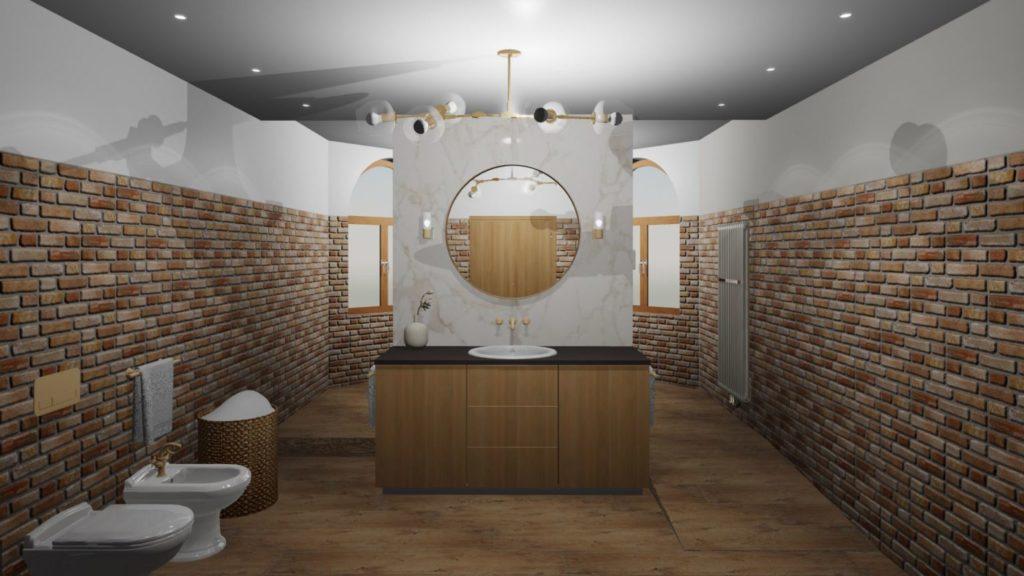 Bezbariérová kúpeľňa.