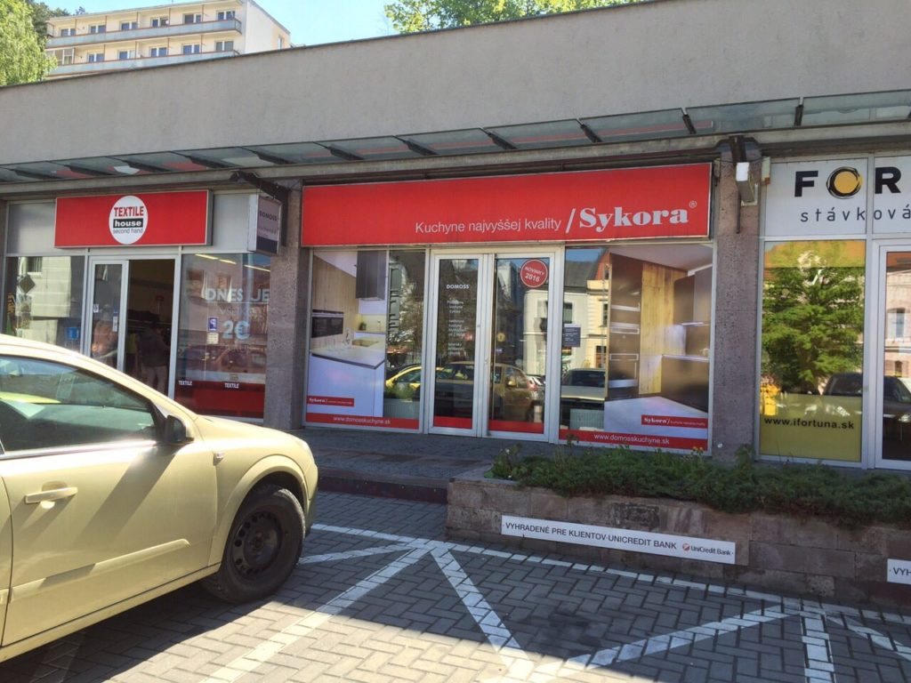 0185f61fd78f Kuchynské štúdio DOMOSS – Sykora Trenčín
