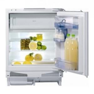 Vstavané jednodverové chladničky