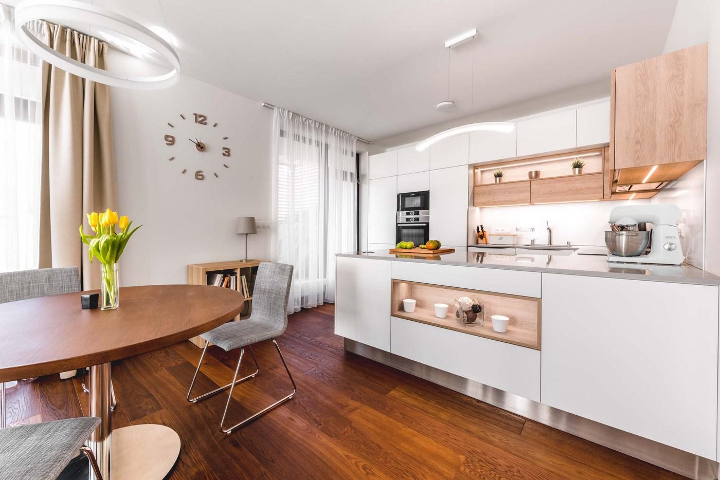 Kuchyňa Sykora Premium Evermatt/Dub Gladstone